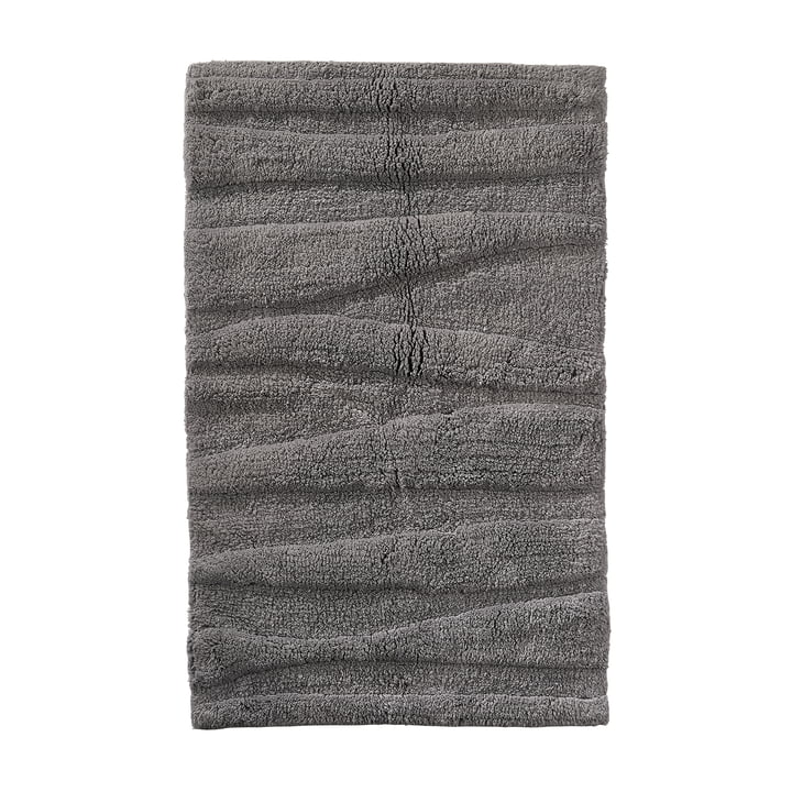 The Zone Denmark - Flow Bathmat, 80 x 50 cm, grey