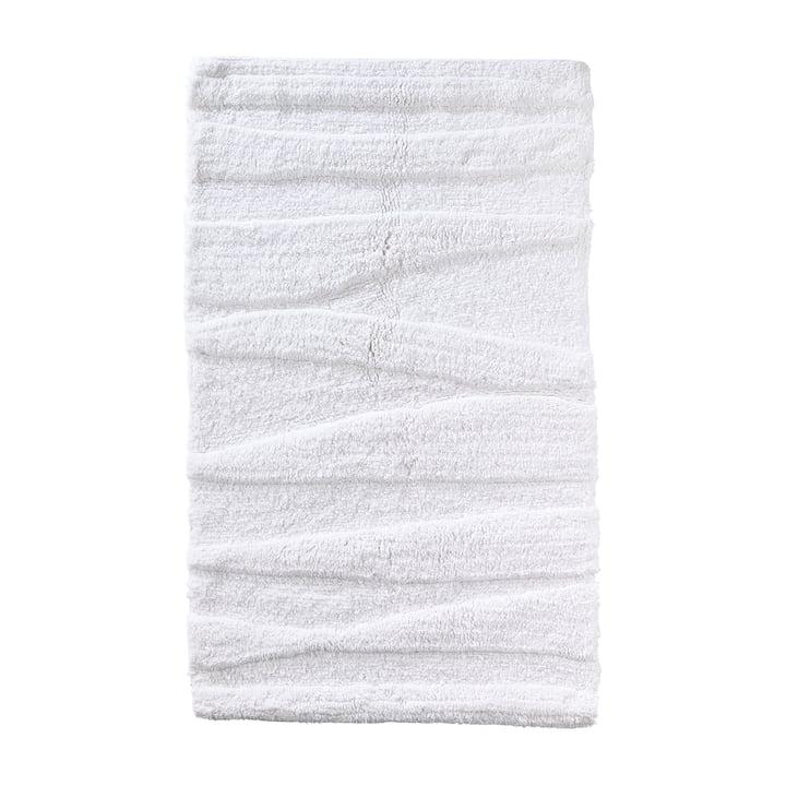 The Zone Denmark - Flow Bathmat, 80 x 50 cm, white