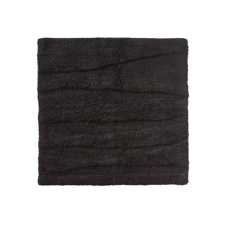 The Zone Denmark - Flow Bathmat, 65 x 65 cm, black