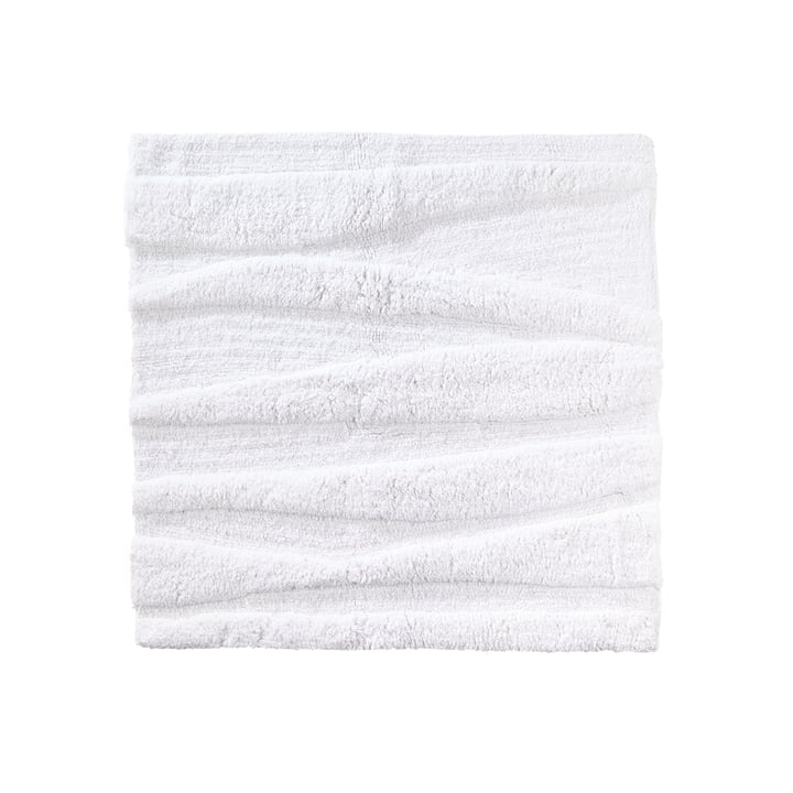 The Zone Denmark - Flow Bathmat, 65 x 65 cm, white