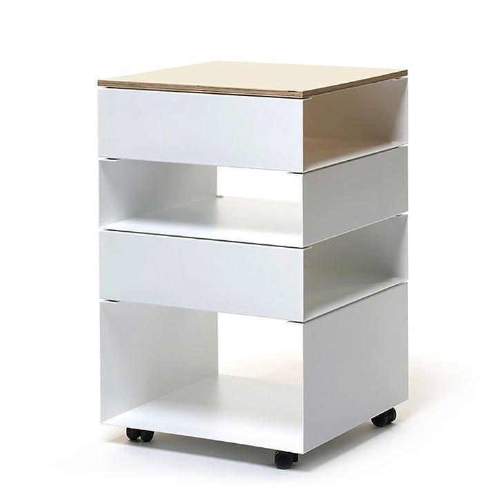 The vonbox - Rolf Mobile Cabinet, white (RAL 9016)