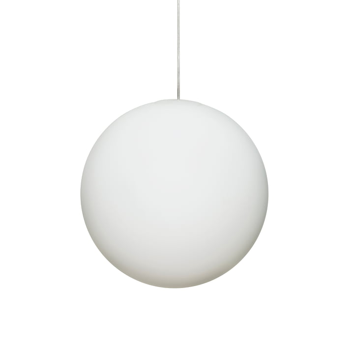 Design House Stockholm - Luna Pendant Lamp Ø 30 cm in white