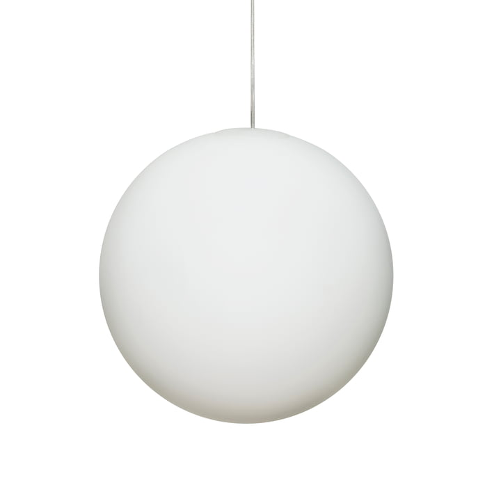 Design House Stockholm - Luna Pendant Lamp Ø 40 cm in White