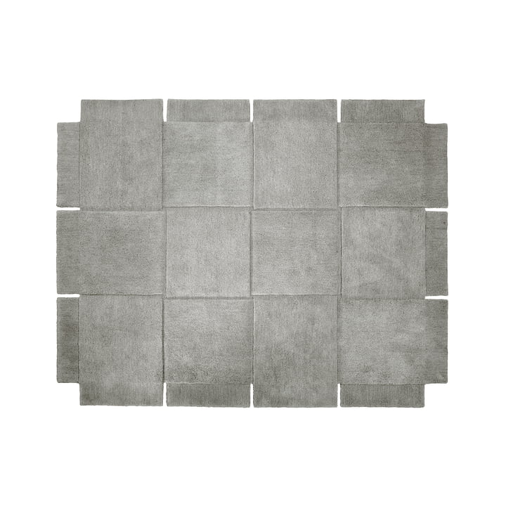 Design House Stockholm - Basket Rug 185 × 240 cm in Grey