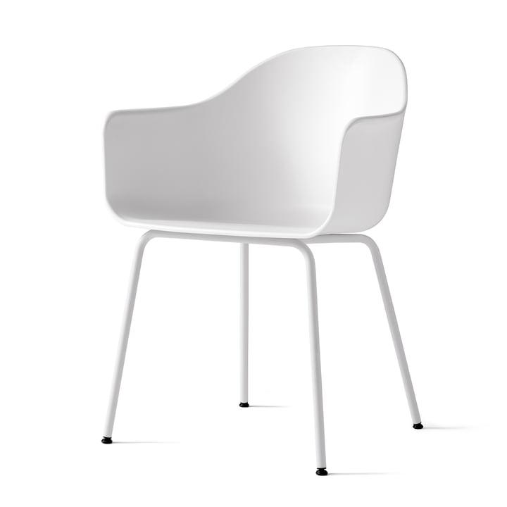 Menu - Harbour Chair (Steel), light grey / white