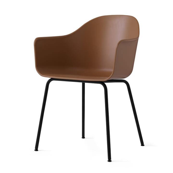 Menu - Harbour Chair (Steel), black / kaki