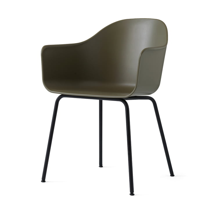 Menu - Harbour Chair (Steel), black / olive