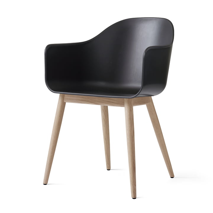 Menu - Harbour Chair (Wood), natural oak / black