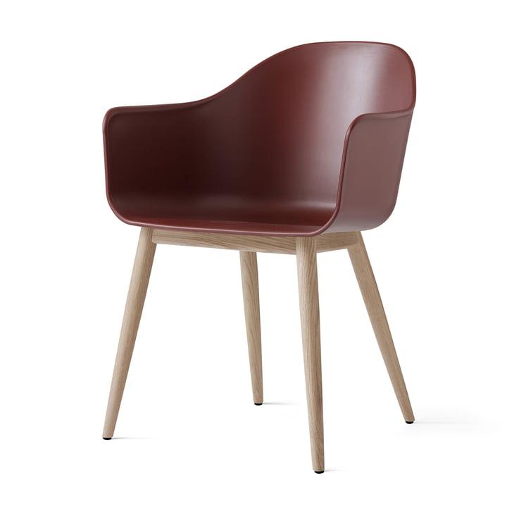 Menu - Harbour Chair (Wood), natural oak / burned red