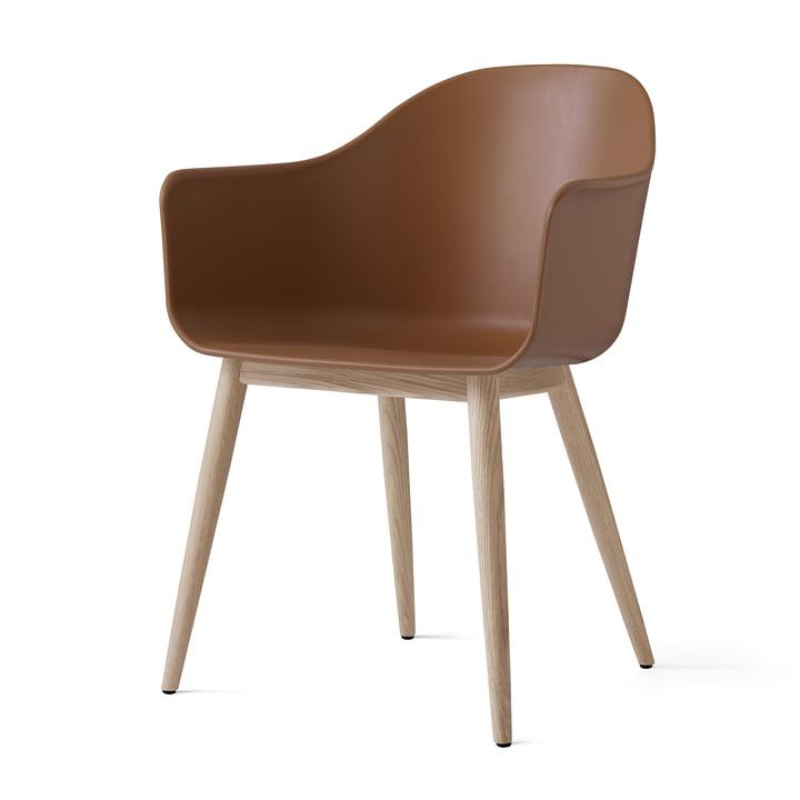 Menu - Harbour Chair (Wood), natural oak / kaki
