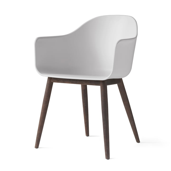 Menu - Harbour Chair (Wood), dark wood / light grey
