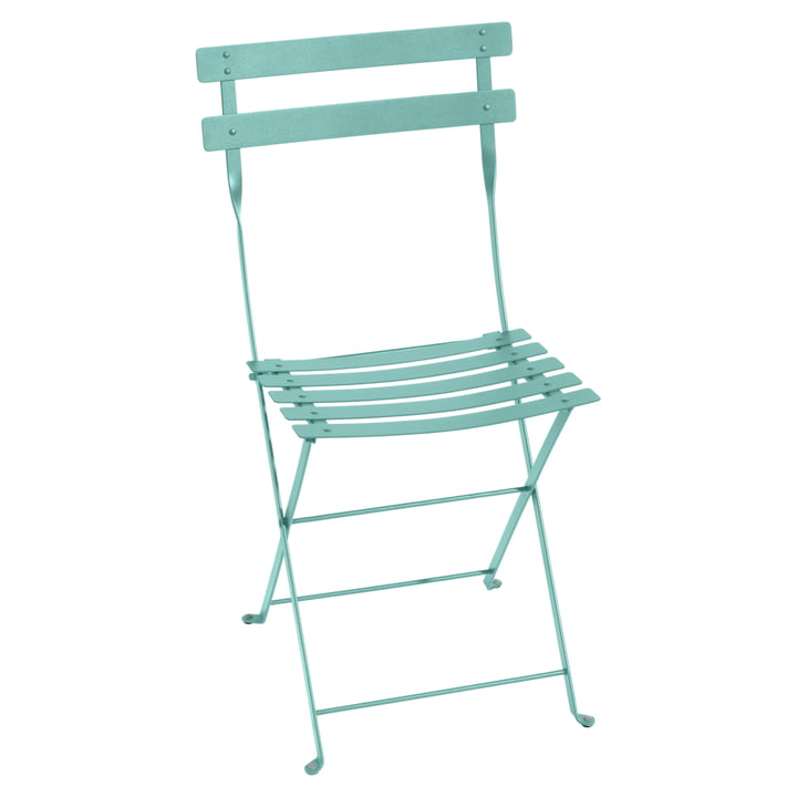 Fermob - Bistro Folding chair metal, lagoon blue