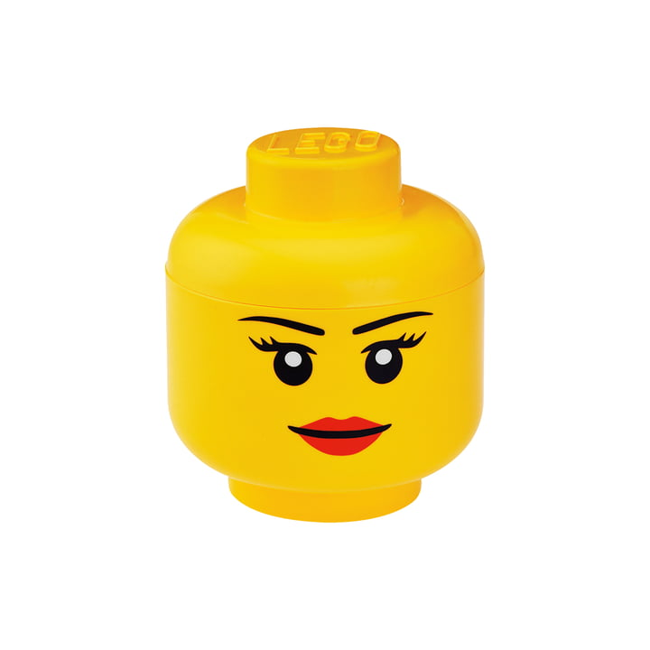 Storage Head Girl by Lego in Small