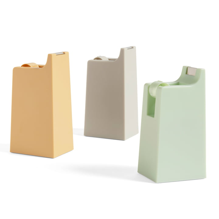 The Hay - Anything Dispenser in Light Grey, Mint and Warm Yellow