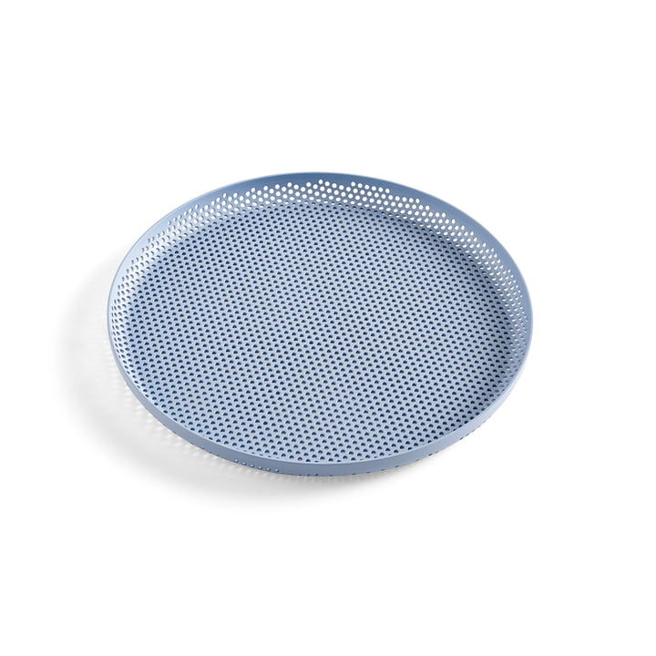 Perforated Tray S of Hay in Light Blue