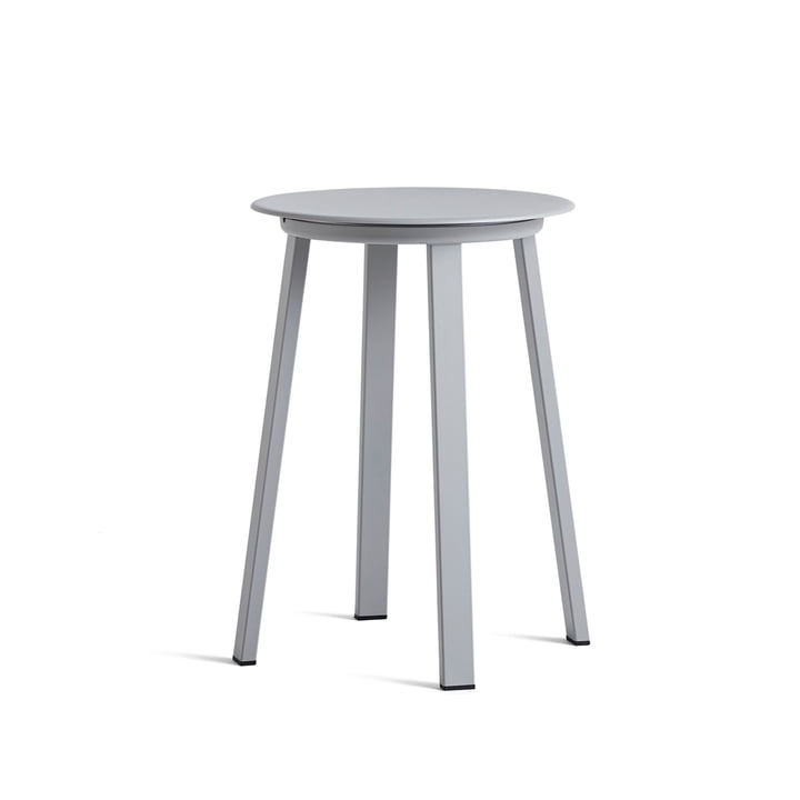 Revolver Stool, Ø 34 x 48 cm by Hay in Sky Grey