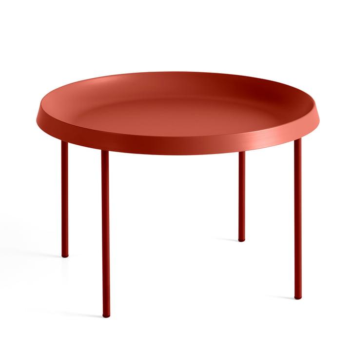 The Hay - Tulou Side Table, Ø 55 x H 35 cm, orange / russet