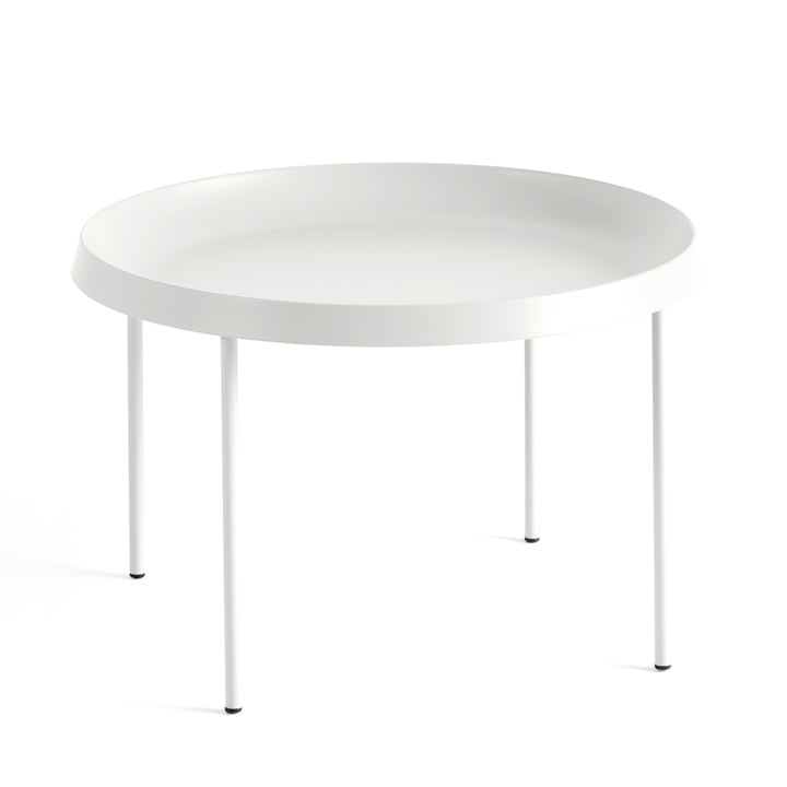 The Hay - Tulou Side Table, Ø 55 x H 35 cm, off-white