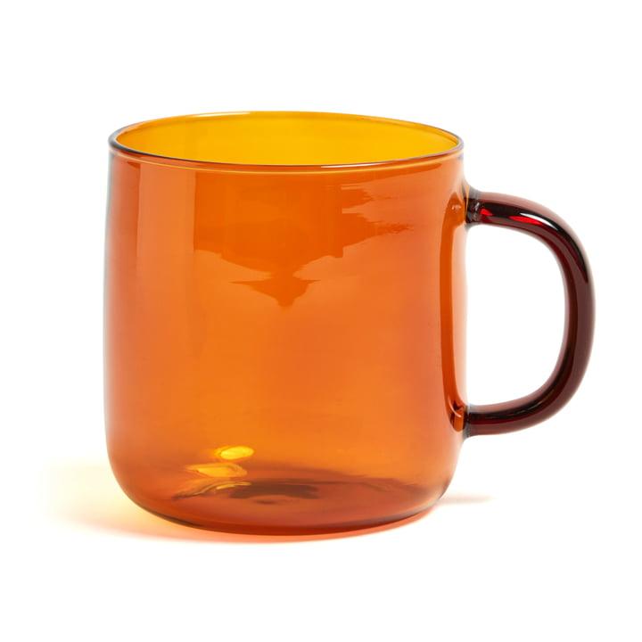 Hay - Borosilicate Cup, Ø 8 x H 8,5 cm in Amber