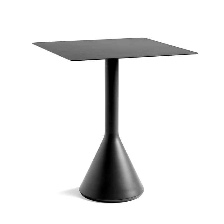 Palissade Cone Table Ø 65 x H 65 cm by Hay in Anthracite