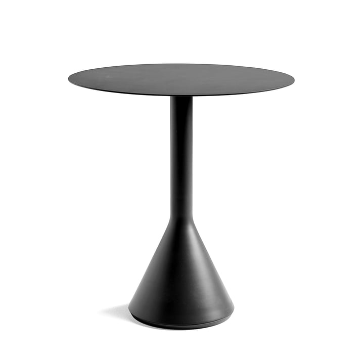 Palissade Cone Bistro Table Ø 70 x H 74 cm by Hay in Anthracite