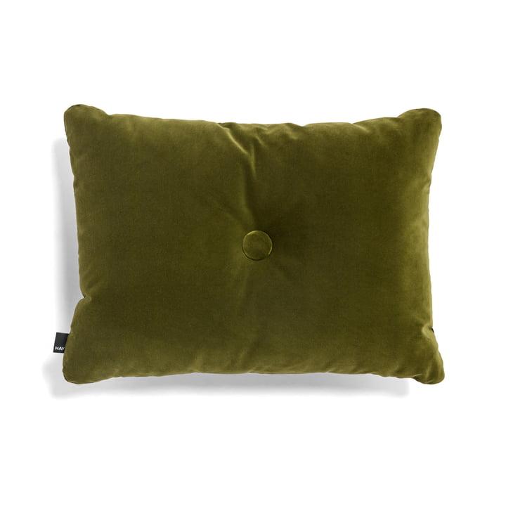 Hay - Dot Soft Cushion, 45 x 60 cm, Moss Green