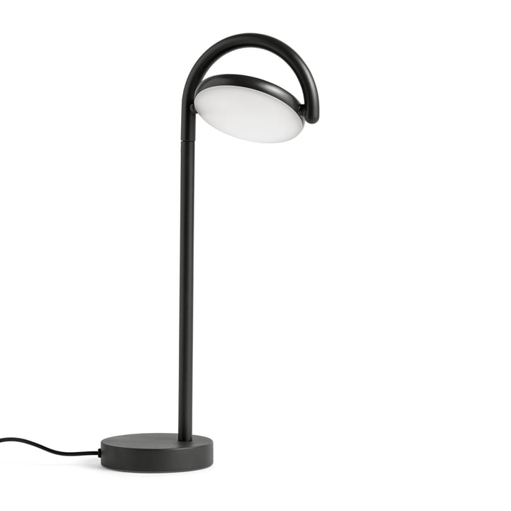 Marselis LED Table Lamp by Hay in Signal Black (RAL 9004)