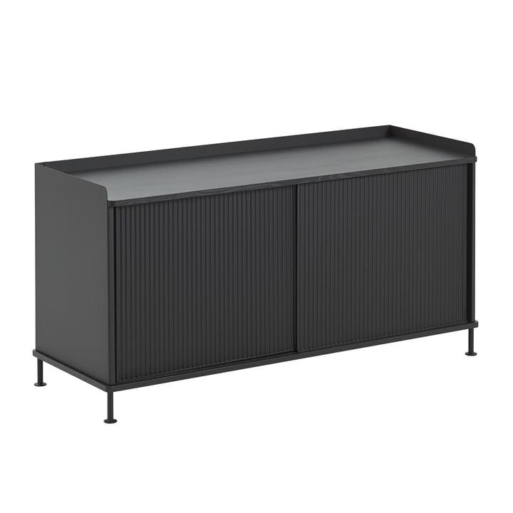 Enfold Sideboard Low by Muuto in Black