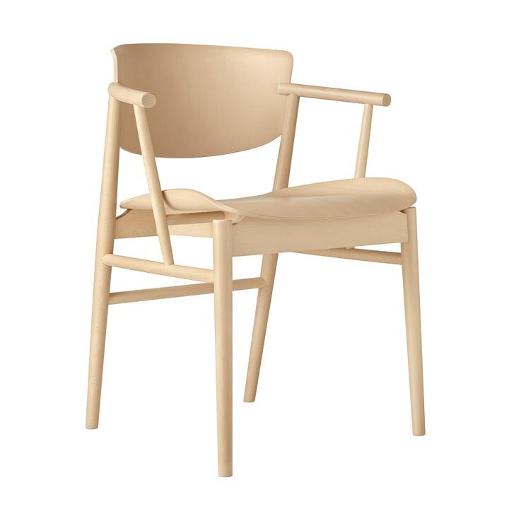 Fritz Hansen - N01 Armchair, beech