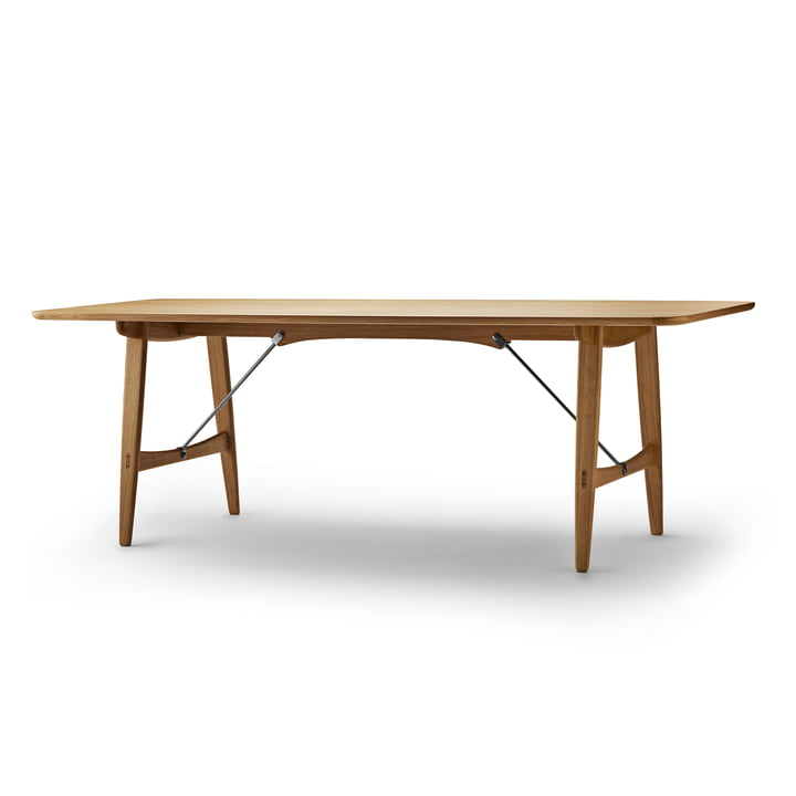 Carl Hansen - BM1160 Hunting Dining Table, 210 x 82 cm, Oiled Oak