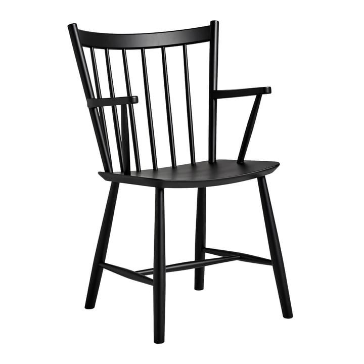 J42 Chair by Hay in Black