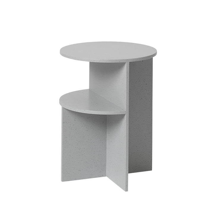 Halves side table Ø 35,5 cm from Muuto in grey