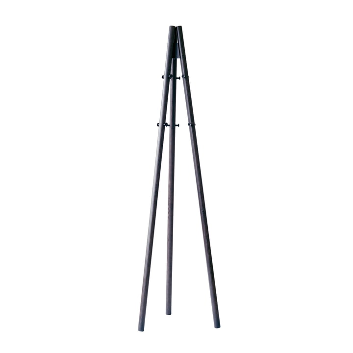 The Artek - Kiila Clothes rack, black ash / black