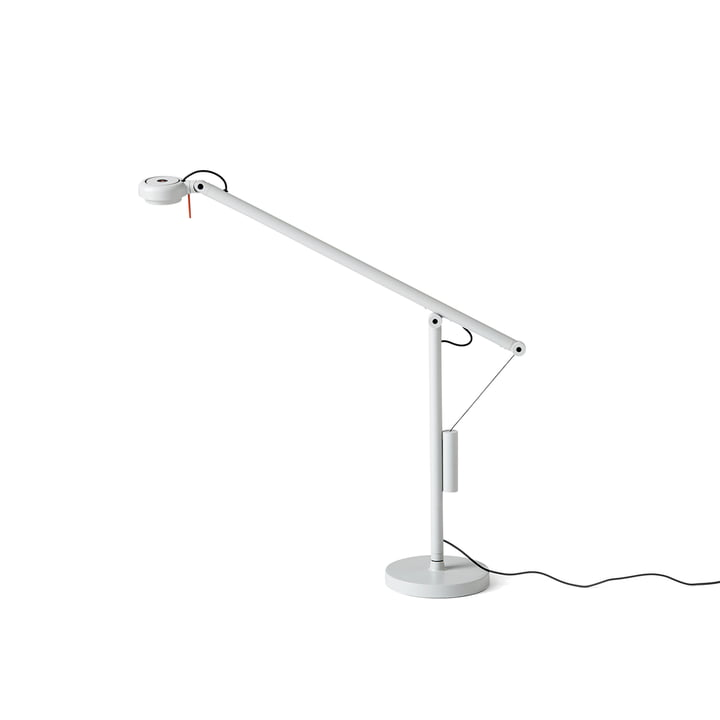 Fifty-Fifty Mini LED Table Lamp by Hay in Light Grey (RAL 7035)