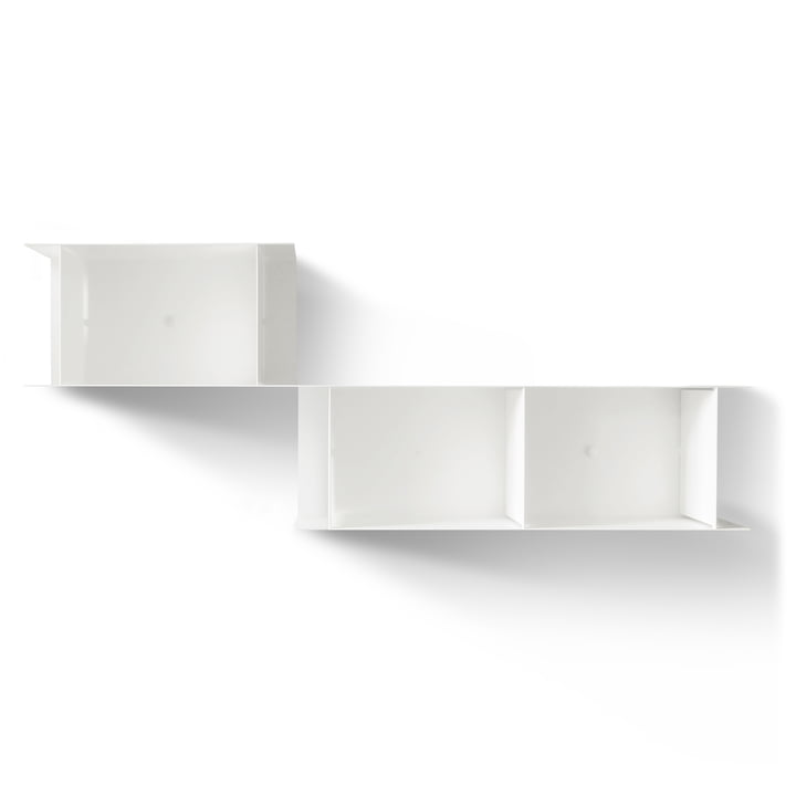 The vonbox - Blurry Wall Shelf, white (RAL 9016)