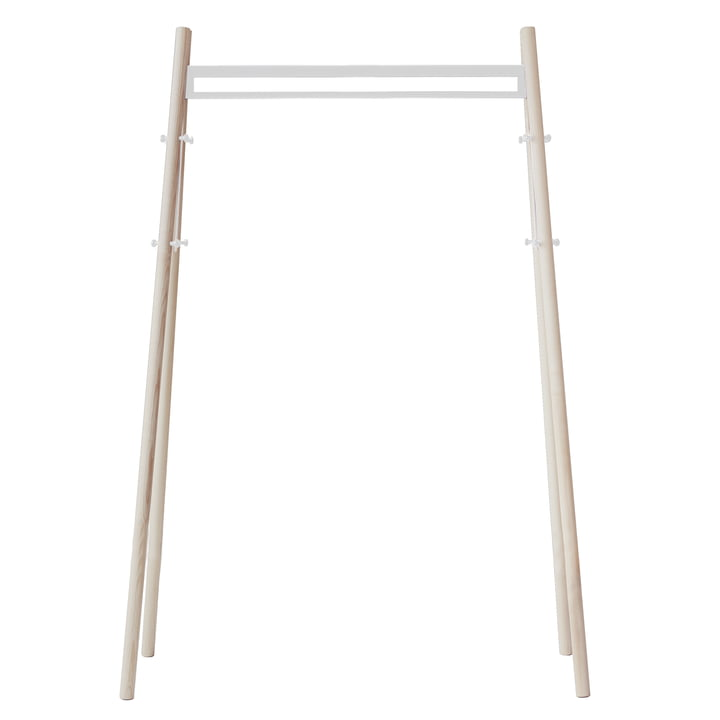 Artek - Kiila Hall Stand, natural ash / stone white