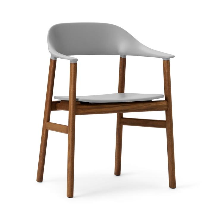 Normann Copenhagen - Herit Armchair, smoked oak / grey