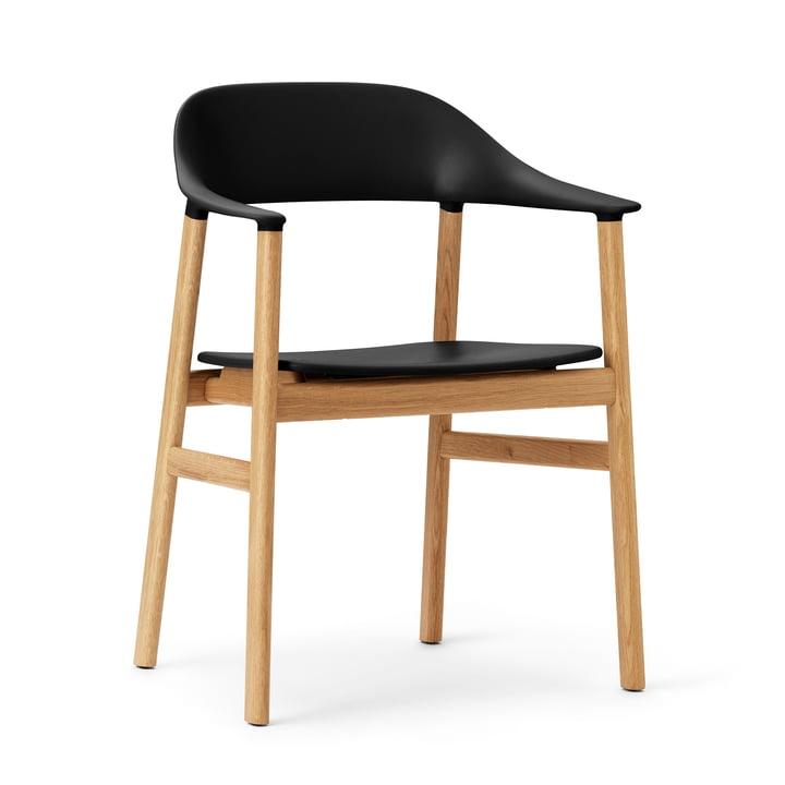 Normann Copenhagen - Herit Armchair, oak / black