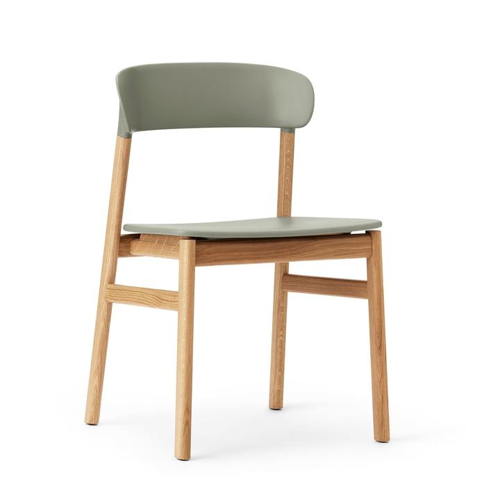 Normann Copenhagen - Herit Chair, oak / dusty green