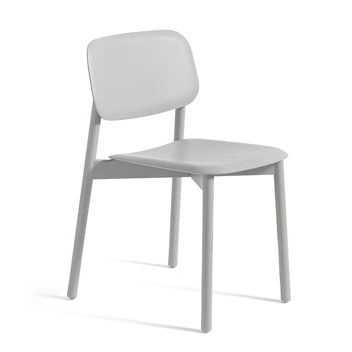 Hay - Soft Edge 12 chair, soft grey stained oak