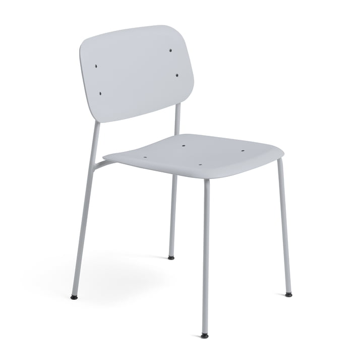 Hay - Soft Edge Chair P10 Chair, light grey