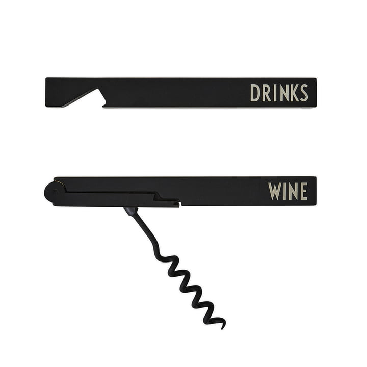 Bar Bottle Opener Gift Set by Design Letters