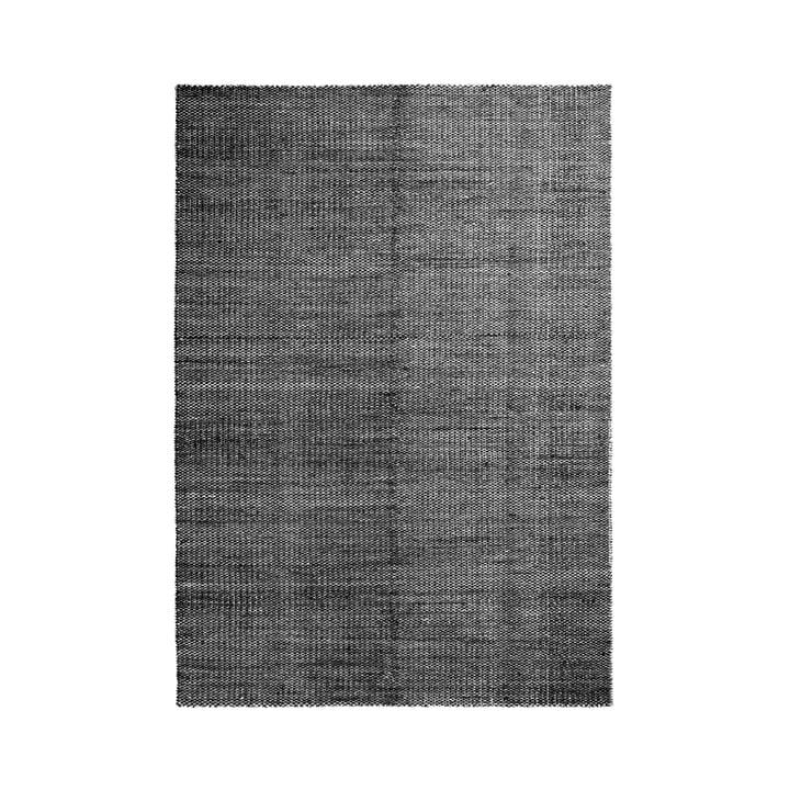 Hay - Moiré Kilim Rug, 170 x 240 cm, black