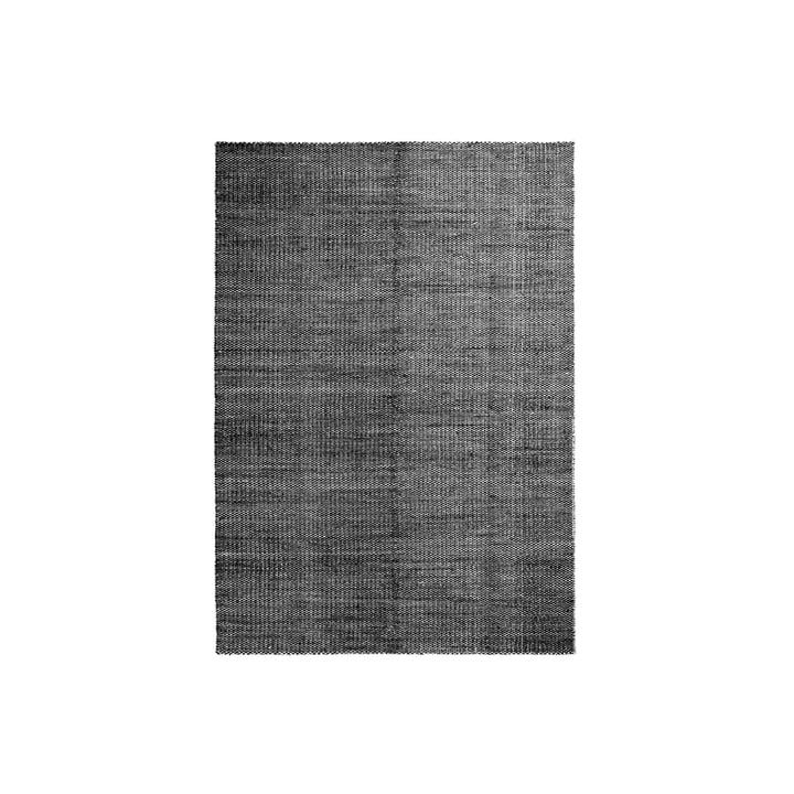 Hay - Moiré Kilim Rug, 140 x 200 cm, black