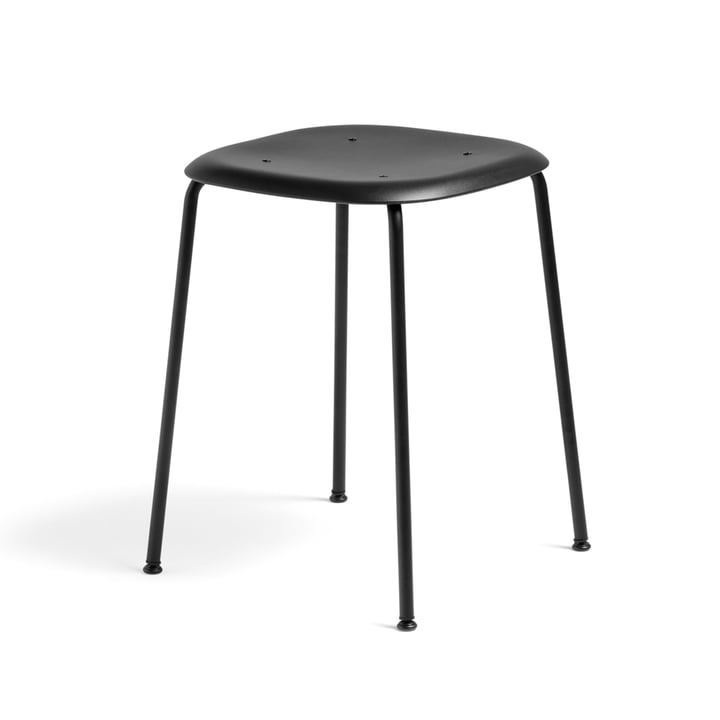 Soft Edge P70 Stool by Hay in Black