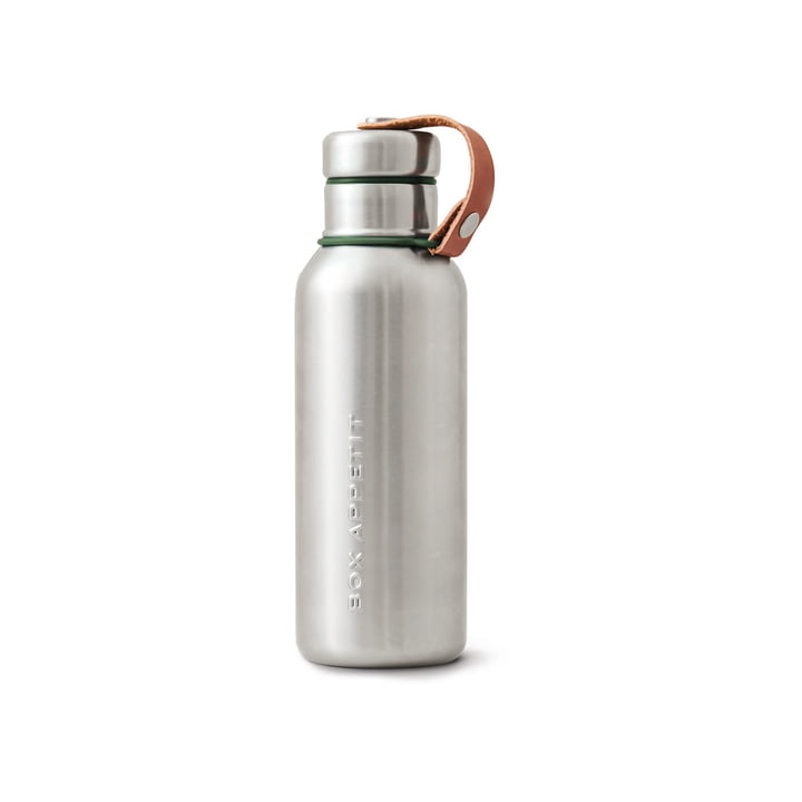 Black + Blum - Stainless Steel Insulated Water Bottle, 0.5 l, olive