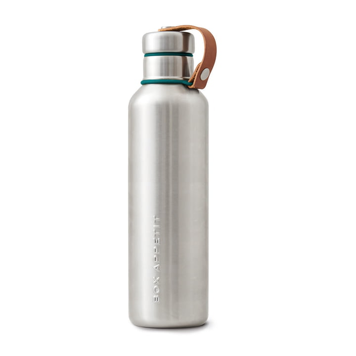 The Black + Blum - Stainless Steel Insulated Water Bottle, 0.75 l, ocean