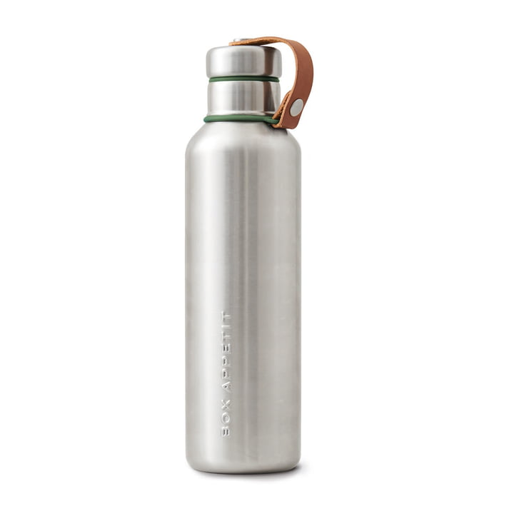 Black + Blum - Stainless Steel Insulated Water Bottle, 0.75 l, olive