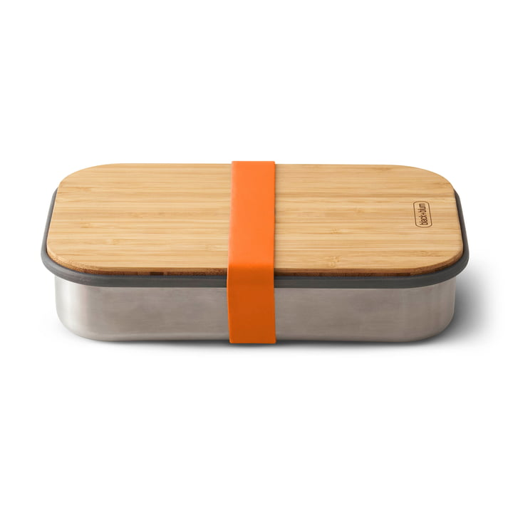 Stainless Steel Sandwich Box by Black + Blum in Orange