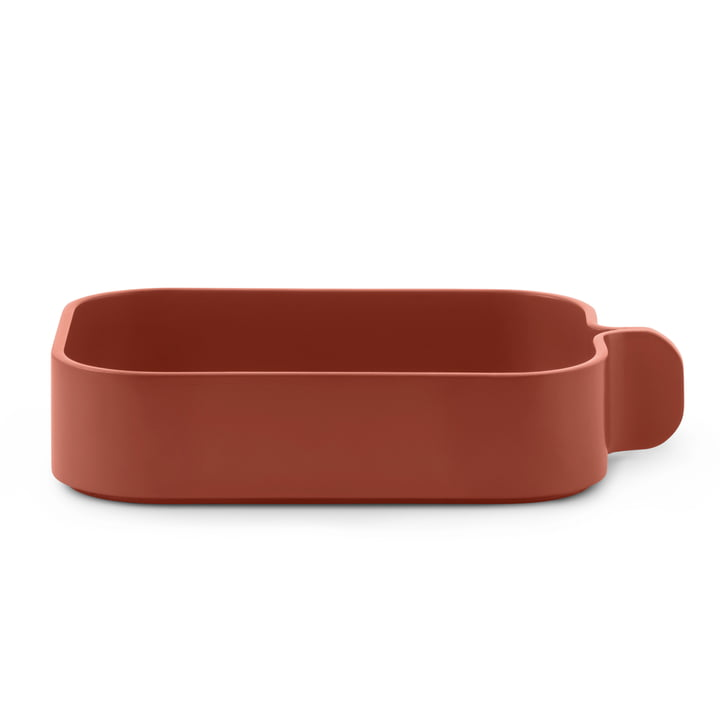Bent Box by Normann Copenhagen in Orange Rust